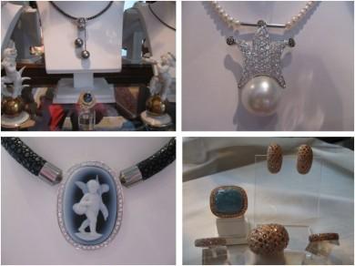 Schmuck, Silber, Gold, Perlen